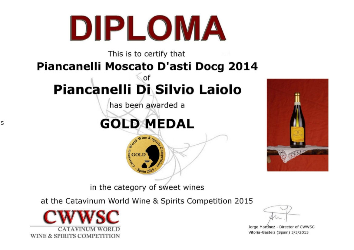 Catavinum-2015-wine-spirits-competition-Spain-Cascina-Piancanelli-Moscato-d-Asti-DOCG_sweet_wine_diploma_gold_medal